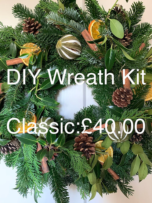 Wreath DIY Kit: Classic
