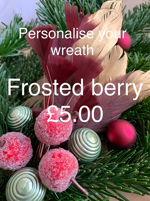 Wreath Sundries Kit: Frosted Berries