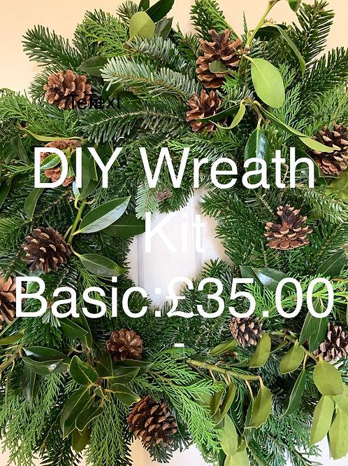 Wreath DIY Kit: Basic