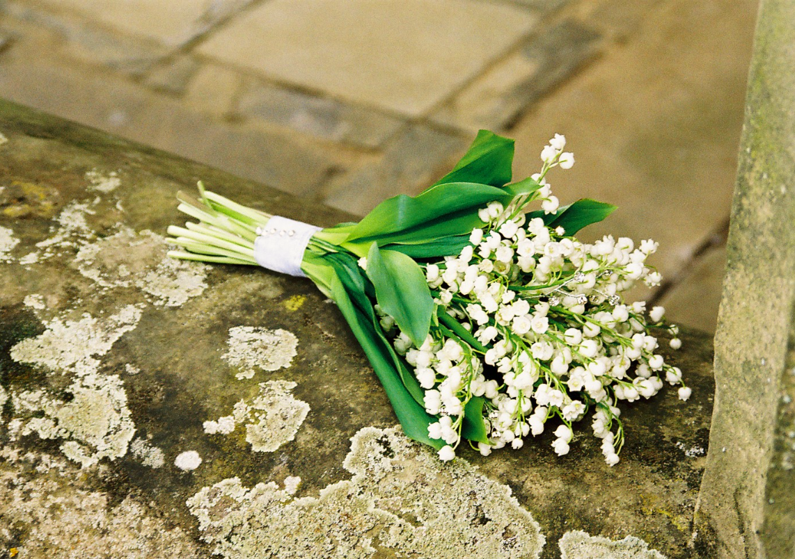 Lily of the Valley Brides bouquet