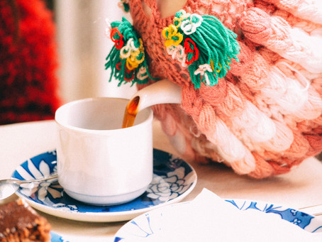 {Join Me Live} The Gathering over a Virtual Cuppa Tea - this is my letter to you