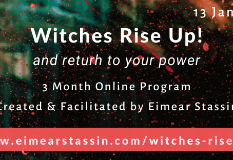 {Webinar Replay & Exciting New Online Program Announcement!} Witches, Rise Up! Step into Your Power