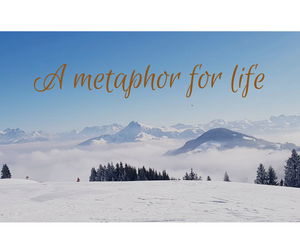 Day 14 ~ Skiing ~ A Metaphor for Life