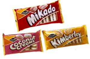 Kimberley Mikado and Coconut Creams