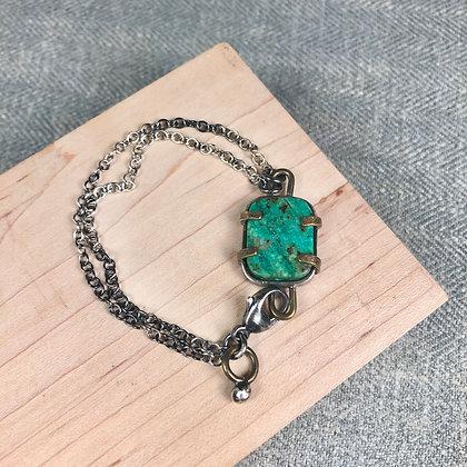 Industrial stones bracelet #7 Cuprite