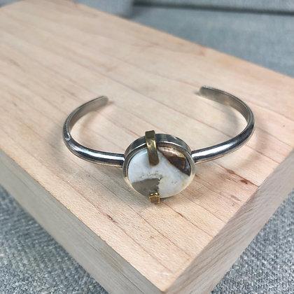 Industrial stones bracelet #6 Brioche
