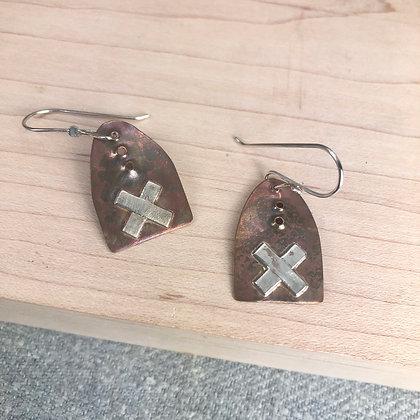 X earrings #1