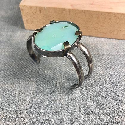 Industrial stones bracelet #10 Chaledony