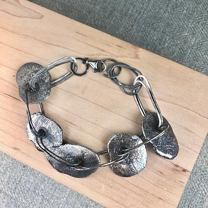 skipping stones bracelet #1