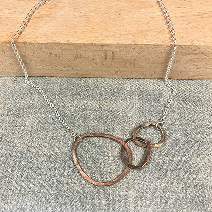classic circles necklace #3