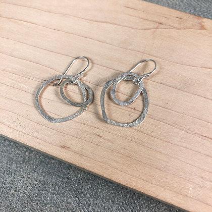 classic cirlce earrings #3