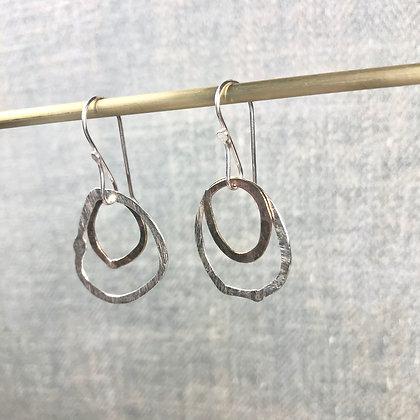 classic circle earrings #14