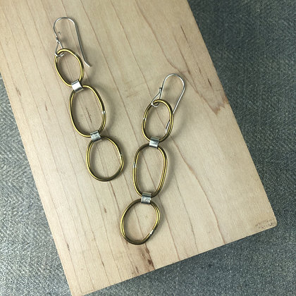 pebble earrings #4