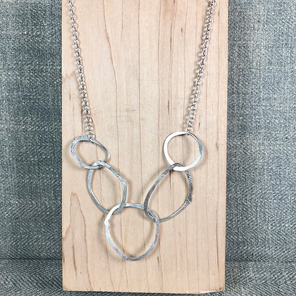 classic circles necklace #1