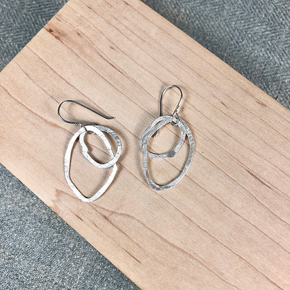 classic circle earrings #2