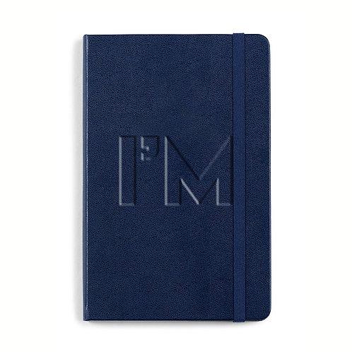 """Navy """"I'M"""" Moleskine Notebook (Large)"""