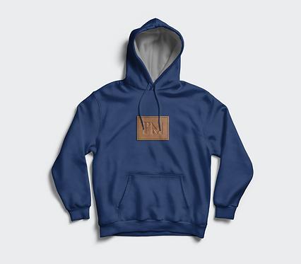 """Slim Fit """"I'M"""" Logo Hoodie"""