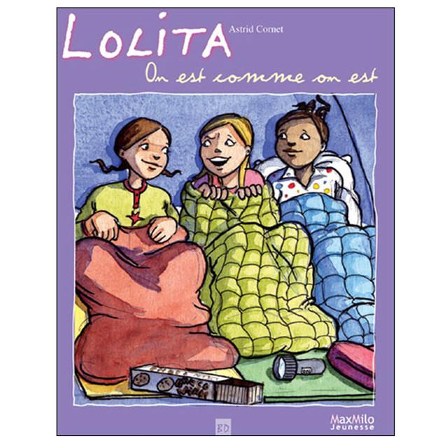 Lolita, on est comme on est, Editions Max Milo jeunesse