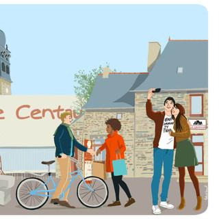 Illustration pour la mairie de Chateaugiron
