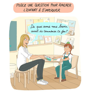 illustration pour l'orthophonie bienveillante