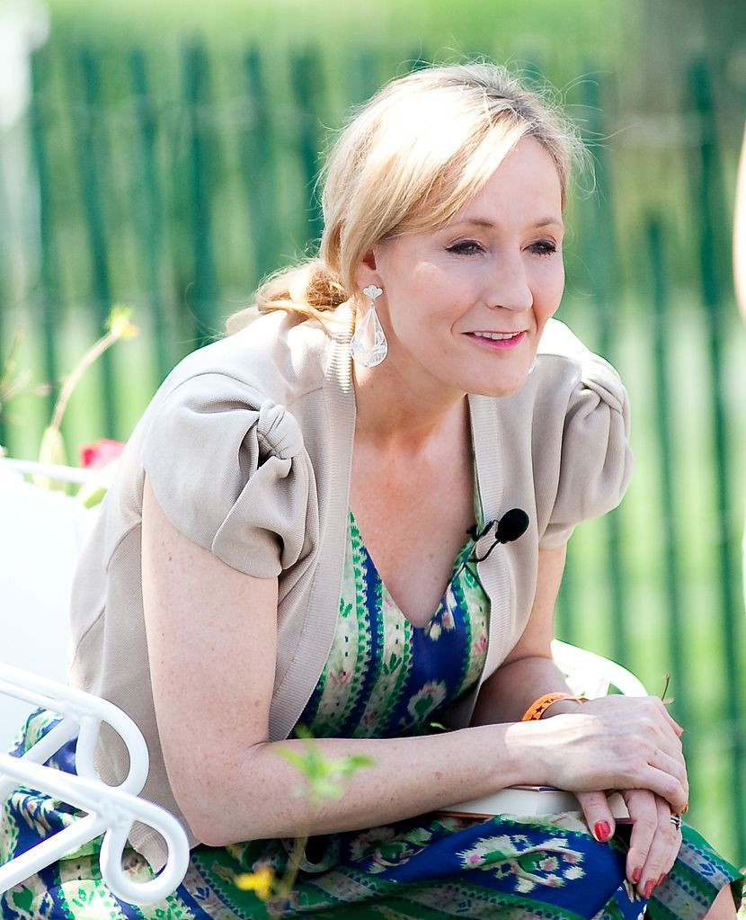 J. K. Rowling, author of Harry Potter