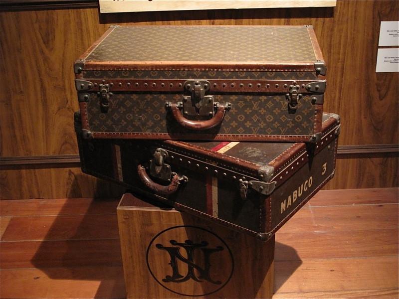 Luxury brand Louis Vuitton's canvas trunk