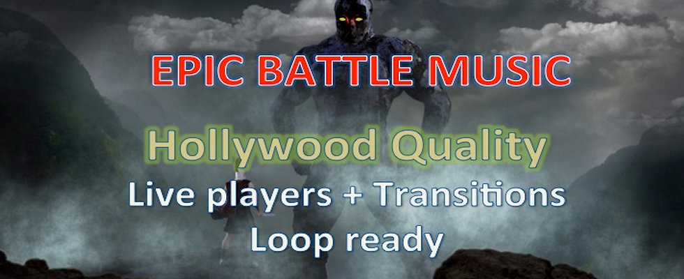 Epic Battle Game Music