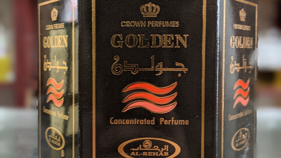 Golden Concentrated Perfume(Roll On) 6x6mL