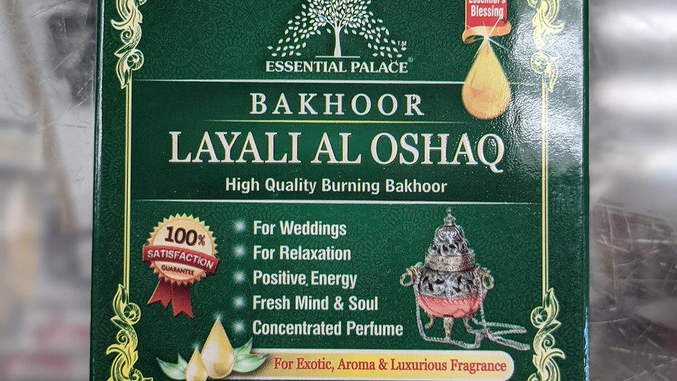 Bakhoor Layali Al Oshaq 3/6 pcs