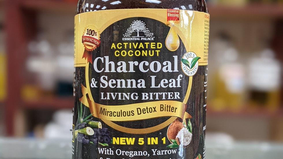 Organic Charcoal & Senna Leaf Living Bitter