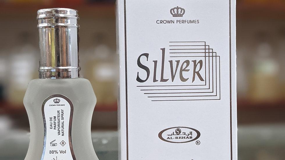 Al-Rehab Silver 35mL Perfume Spray
