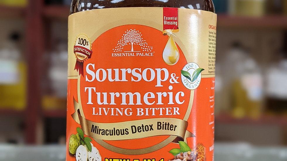 Organic Soursop & Turmeric Living Bitter