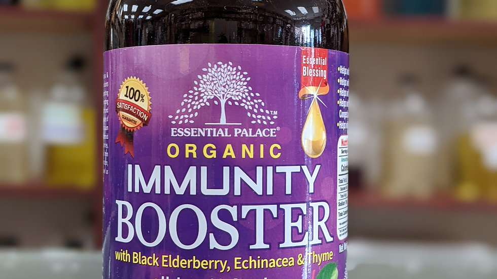 Organic Immunity Booster with Black Elderberry
