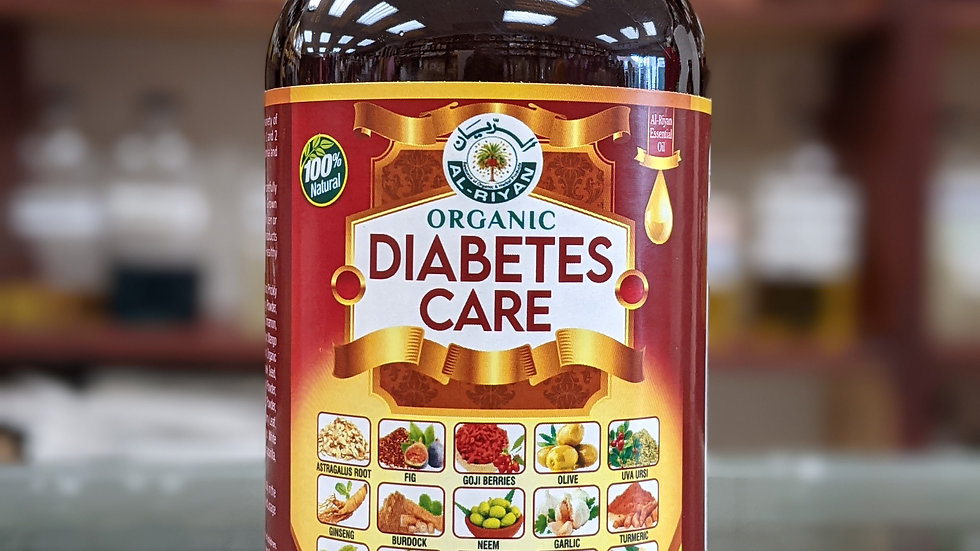 Organic Diabetes Care Supports Insulin Function