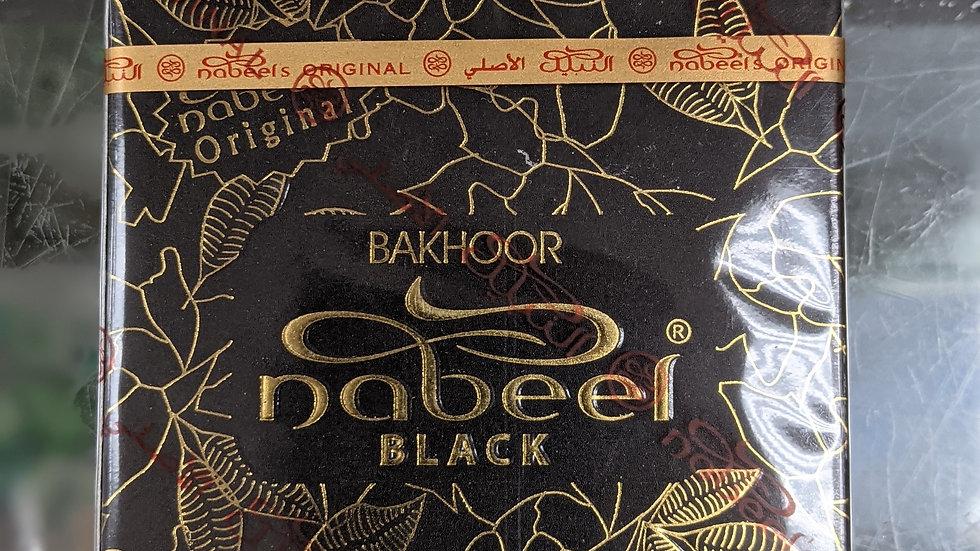 Nabeel Bakhoor Black 3/6 pcs