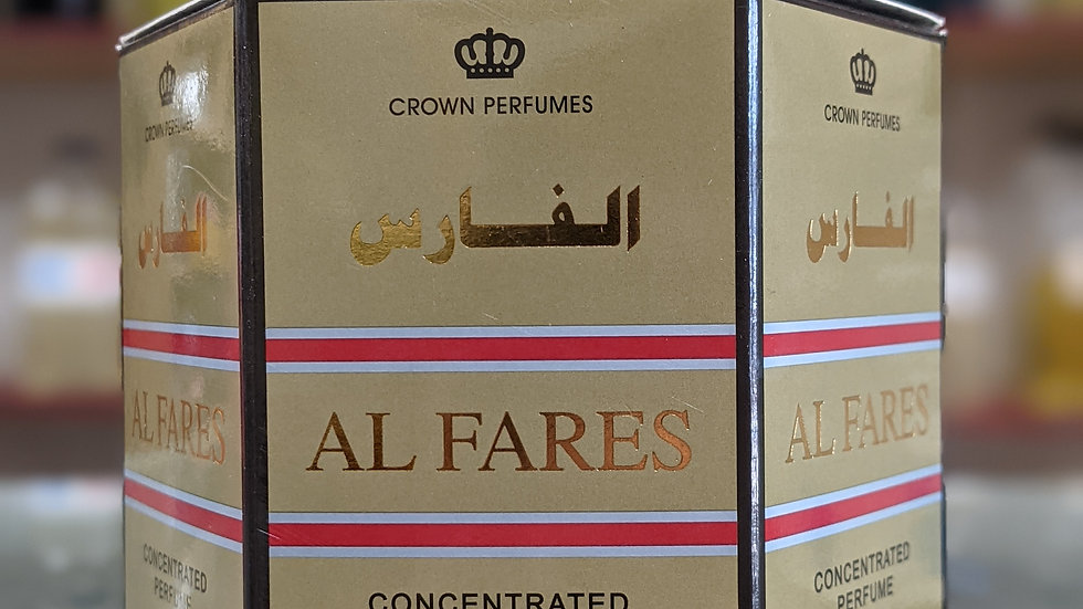 Al Fares Concentrated Perfume(Roll On) 6x6mL