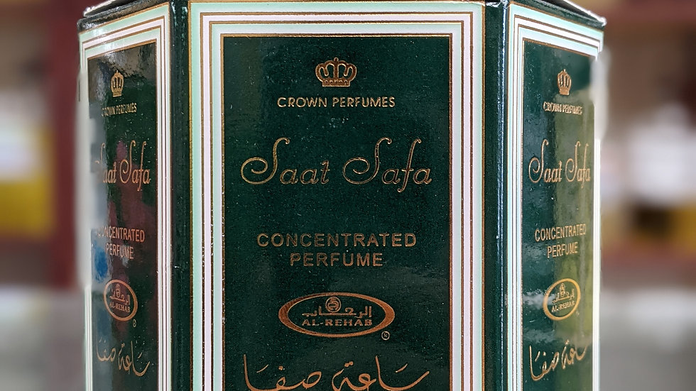 Saat Safa Concentrated Perfume(Roll On) 6x6mL
