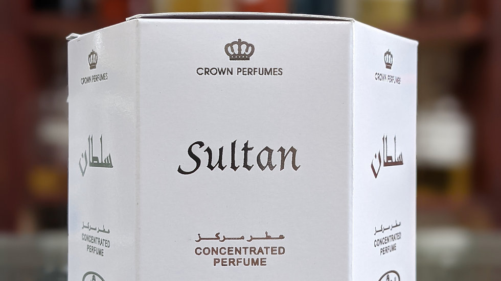 Sultan Concentrated Perfume(Roll On) 6x6mL