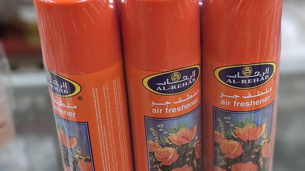 Al-Rehab Crown Perfumes Bakhour Air Freshener 6x300mL