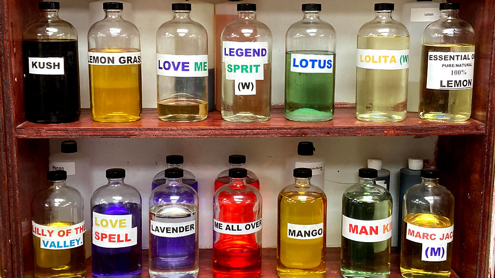 Body Perfumes & Burning Oils (Kush to Marc Jacobs(M))