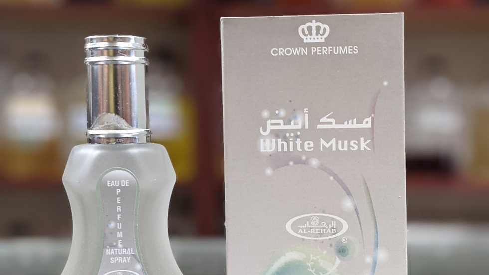 Al-Rehab White Musk 35mL Perfume Spray