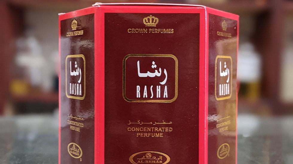 Rasha Concentrated Perfume(Roll On) 6x6mL