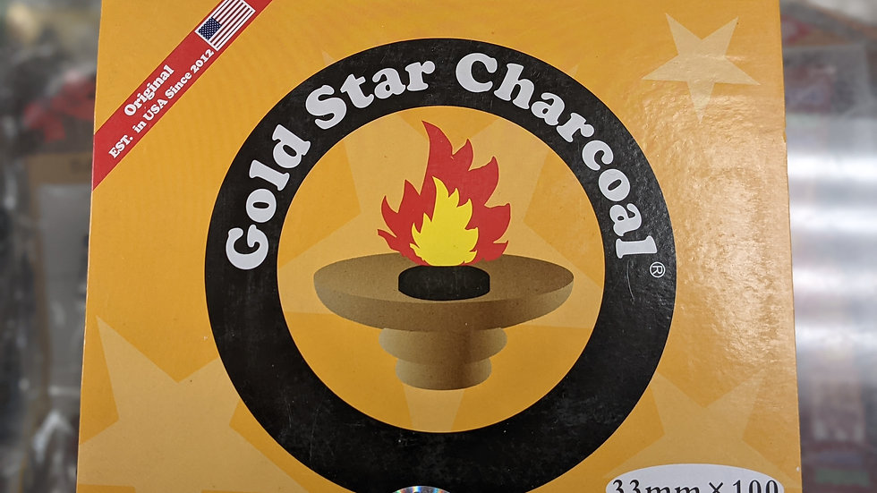 Gold Star Charcoal 10 pack