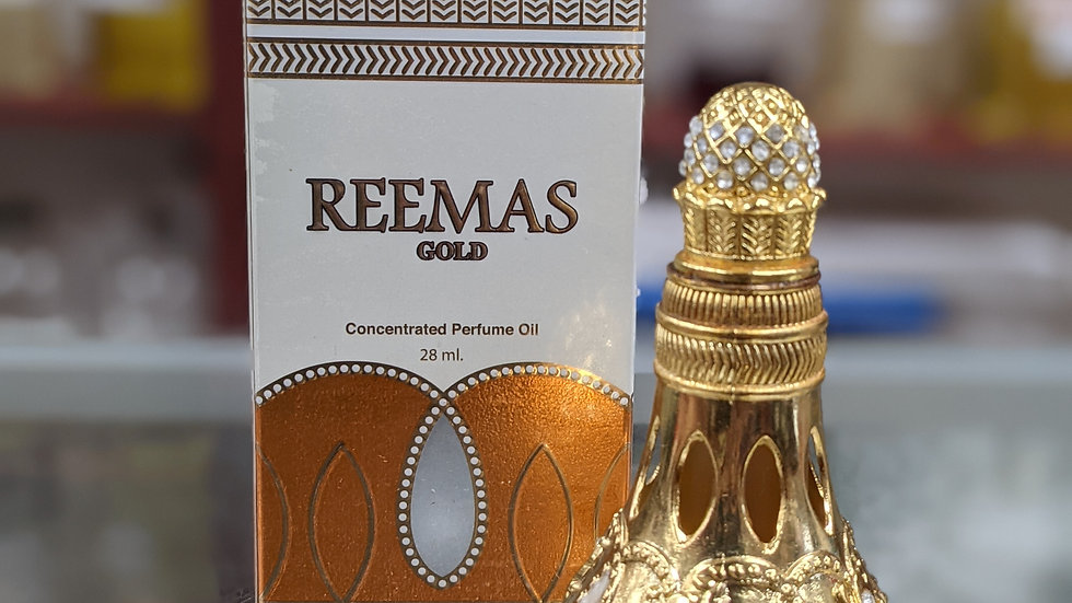 Reemas Gold Concentrated Oil Perfume 28mL