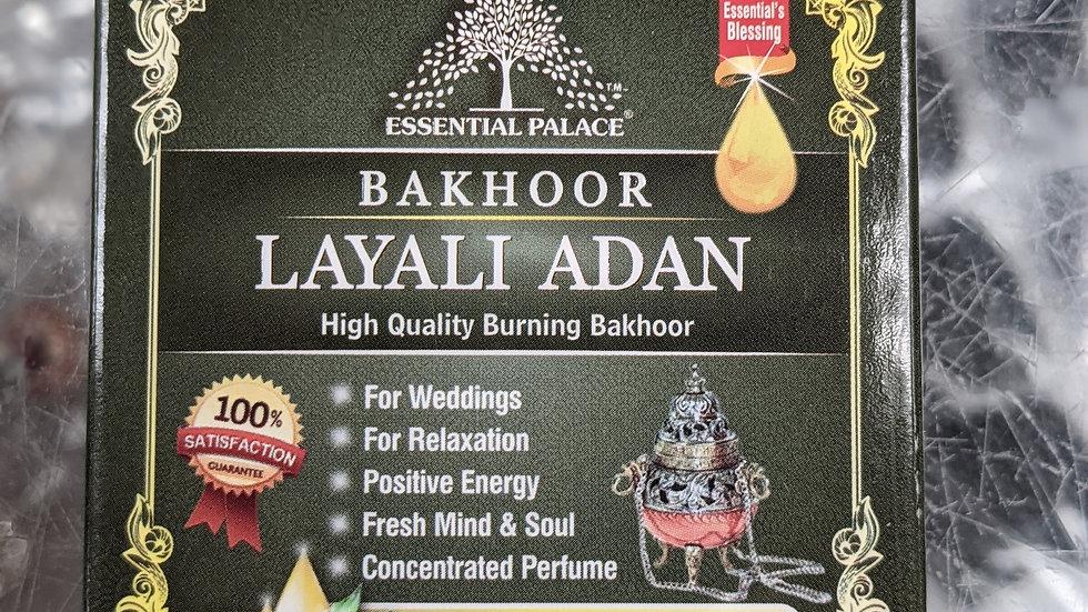 Bakhoor Layali Adan 3/6 pcs