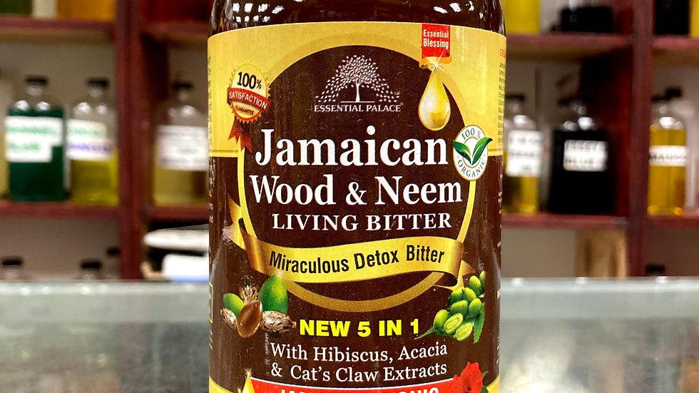 Organic Jamaican Wood & Neem Living Bitter