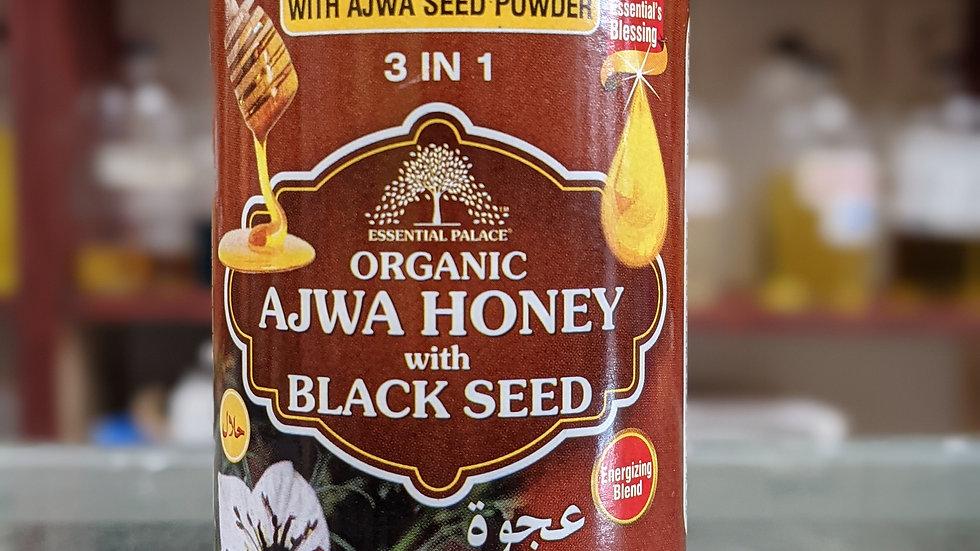 Organic Ajwa Honey with Black Seed