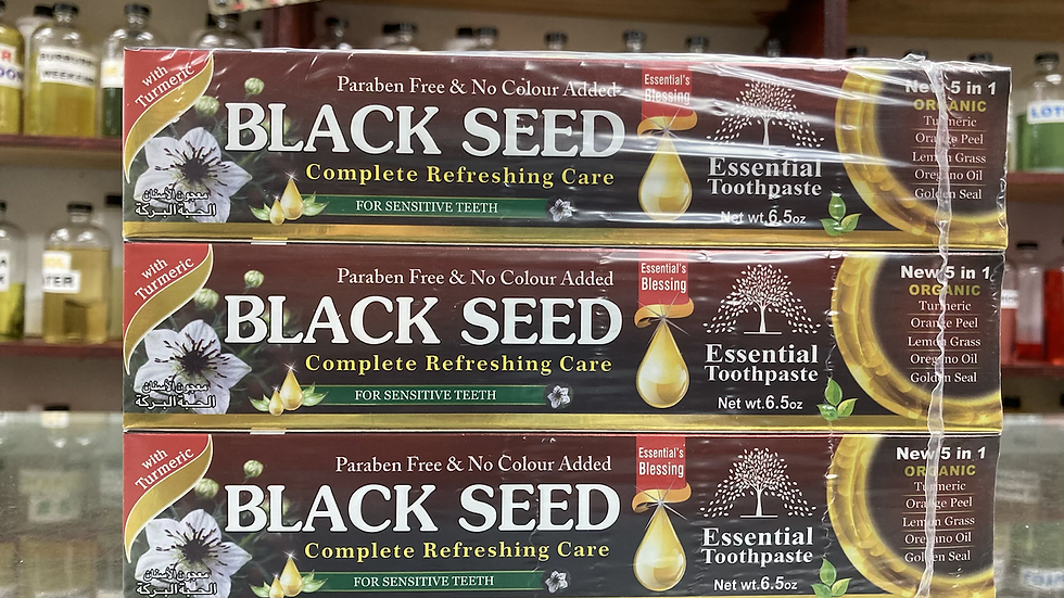 Black Seed Toothpaste