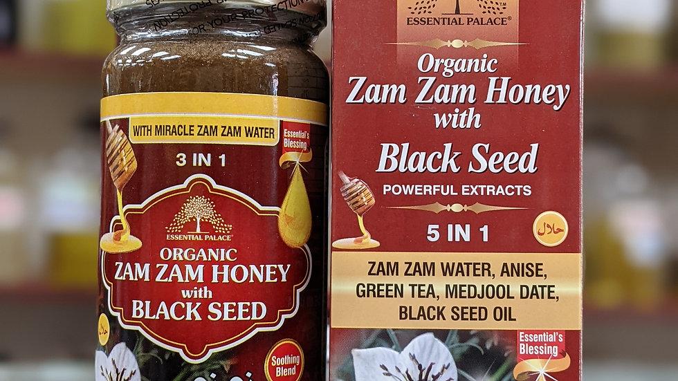 Organic Zam Zam Honey with Black Seed