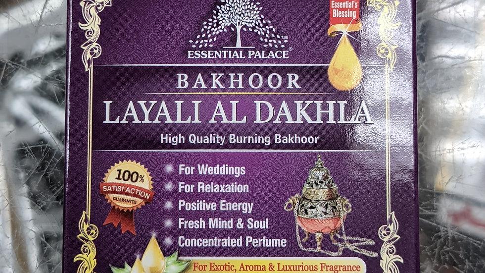 Bakhoor Layali Al Dakhla 3/6 pcs